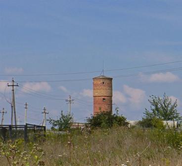 водонапорная башня топканово