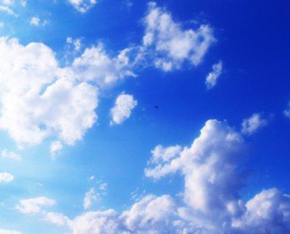 летнее небо